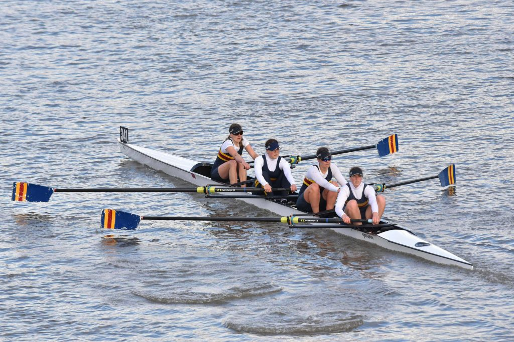 CCRC Women at Pairs Head 2018